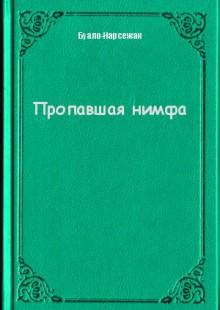 Обложка книги  - Пропавшая нимфа