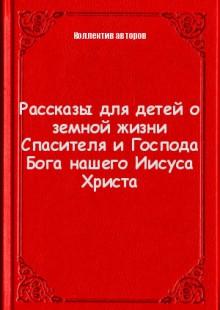 Обложка книги  - Рассказы для детей о земной жизни Спасителя и Господа Бога нашего Иисуса Христа