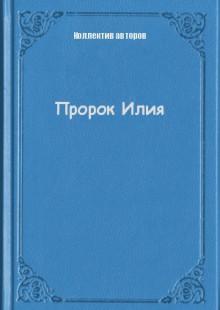 Обложка книги  - Пророк Илия