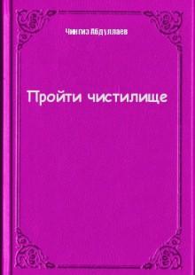 Обложка книги  - Пройти чистилище