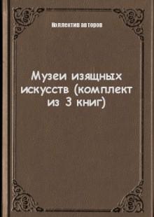 Обложка книги  - Музеи изящных искусств (комплект из 3 книг)