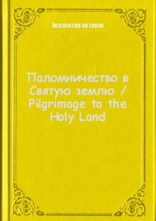Обложка книги  - Паломничество в Святую землю / Pilgrimage to the Holy Land