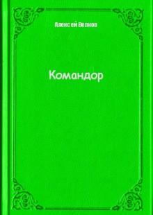 Обложка книги  - Командор