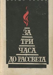 Обложка книги  - За три часа до рассвета