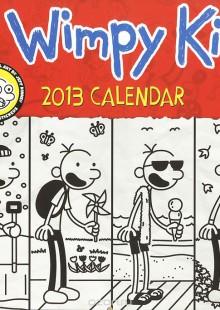 Обложка книги  - Календарь 2013 (на скрепке). The Wimpy Kid (+ наклейки)