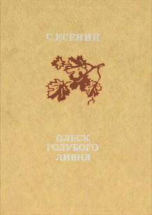 Обложка книги  - Плеск голубого ливня