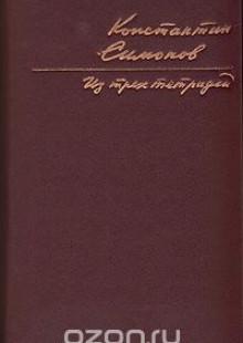 Обложка книги  - Из трех тетрадей