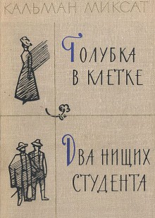 Обложка книги  - Голубка в клетке. Два нищих студента