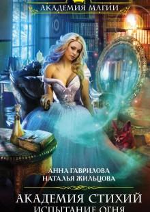 Обложка книги  - Академия Стихий. Испытание Огня