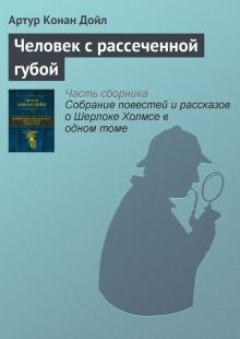 Обложка книги  - Человек с рассеченной губой