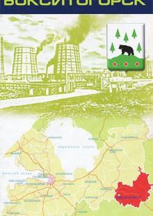 Обложка книги  - Ленинградская область. Бокситогорский район. Бокситогорск. Карта
