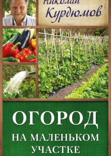 Обложка книги  - Огород на маленьком участке
