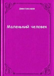 Обложка книги  - Маленький человек
