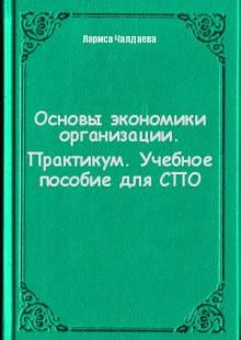 Обложка книги  - Основы экономики организации. Практикум. Учебное пособие для СПО