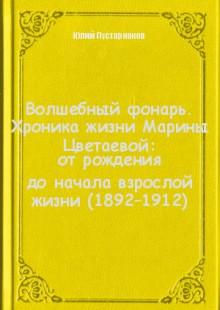 Обложка книги  - Волшебный фонарь. Хроника жизни Марины Цветаевой: отрождения доначала взрослой жизни (1892–1912)