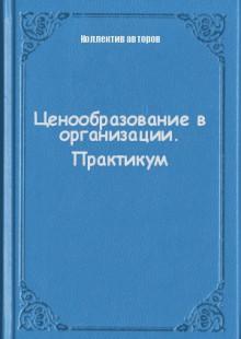Обложка книги  - Ценообразование в организации. Практикум
