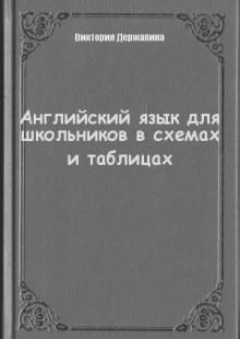 Обложка книги  - Английский язык для школьников в схемах и таблицах