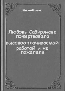 Обложка книги  - Любовь Сабирянова пожертвовала высокооплачиваемой работой и не пожалела