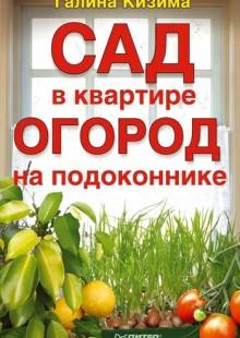 Обложка книги  - Сад в квартире, огород на подоконнике