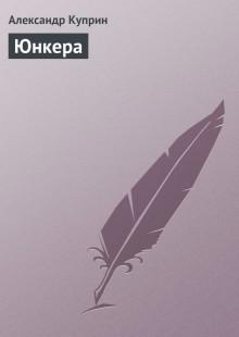Обложка книги  - Юнкера